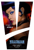 Valerian and the City of a Thousand Planets Movie Poster 4 Rihanna as Bubble