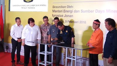 Menteri ESDM Resmikan 10 Ribu Jasgas SR di Mojokerto