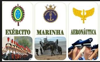 Resultado de imagem para exercito marinha e aeronautica