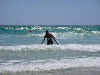 Coolangatta, 1ère leçon de surf
