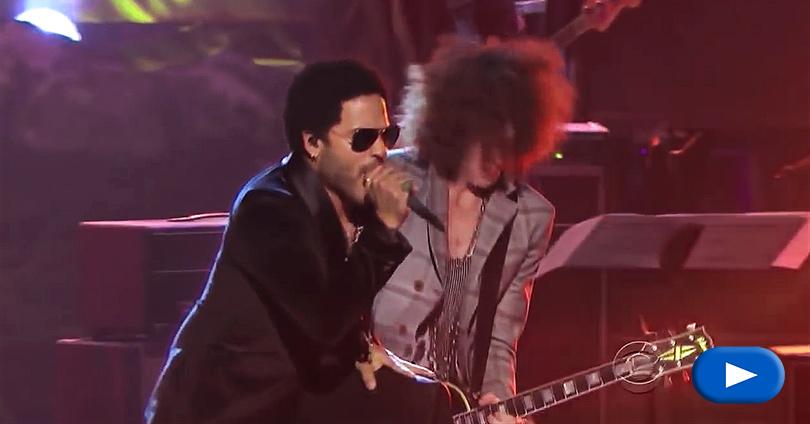 Lenny Kravitz - Whole Lotta Love - Live 2012