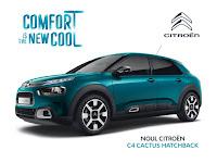 Castiga un Citroen C4 Cactus – masina ta cu plinul facut pentru un weekend intreg
