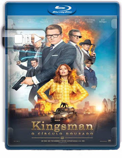 Kingsman: O Círculo Dourado Torrent – WEB-DL | 720p | 1080p | Legendado (2017)