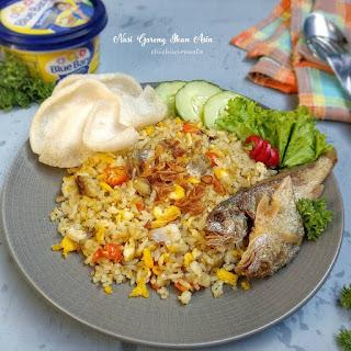 Resep Nasi Goreng Ikan Asin Sederhana By @chichiwiranata
