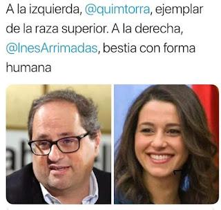 Quim Torra, Inés Arrimadas