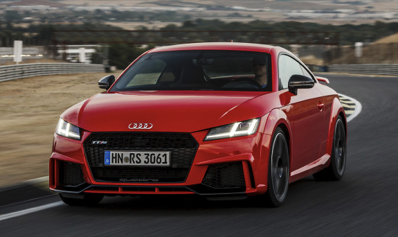 First Drive: 2018 Audi TT RS roadster Review Car and Driver