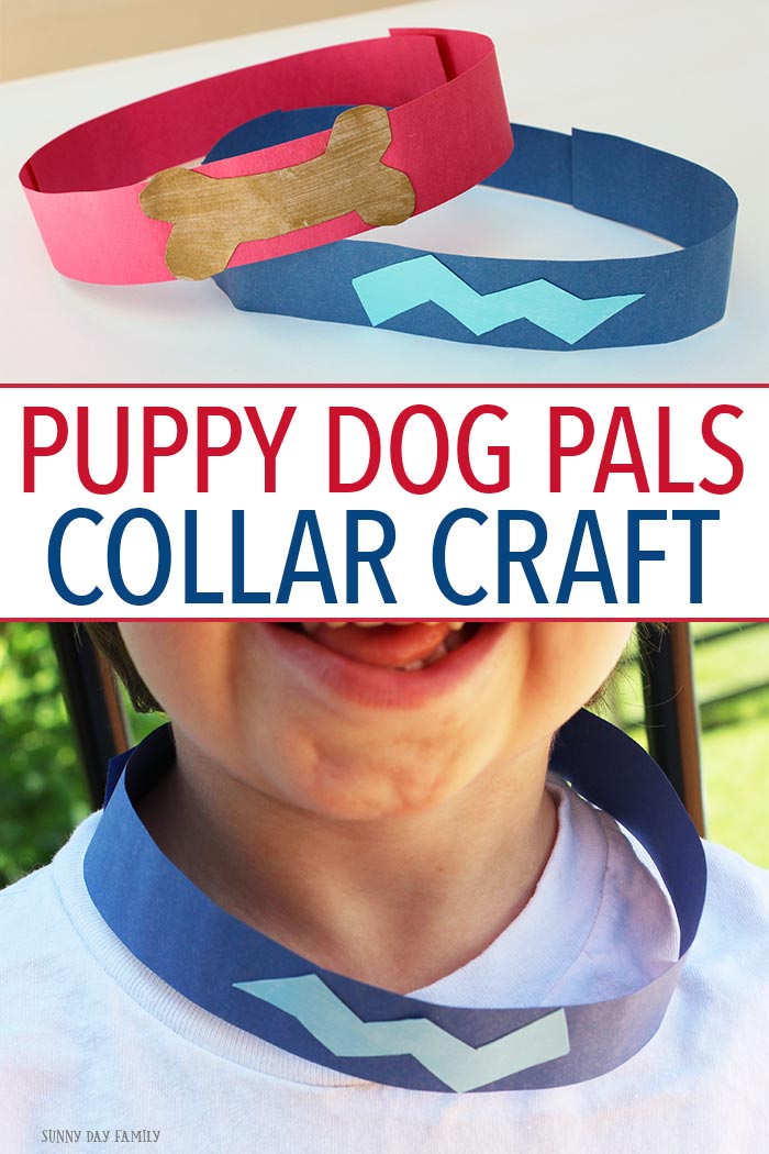 Make your own Puppy Dog Pals collars just like Bingo & Rolly wear! This easy DIY dog collar craft is perfect for going on your own adventures or for wearing while you watch Puppy Dog Pals on Disney Junior. We love watching new episodes on Friday mornings on Disney Channel! AD