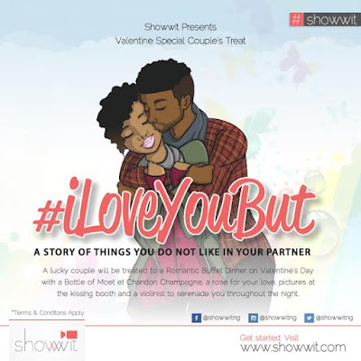 Showwit.com presents Valentine's Day competition – #iLoveYouBut
