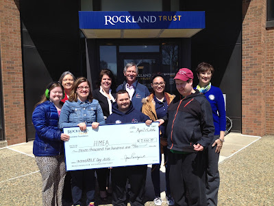 HMEA celebrates receiving funding from Rockland Trust Charitable Foundation