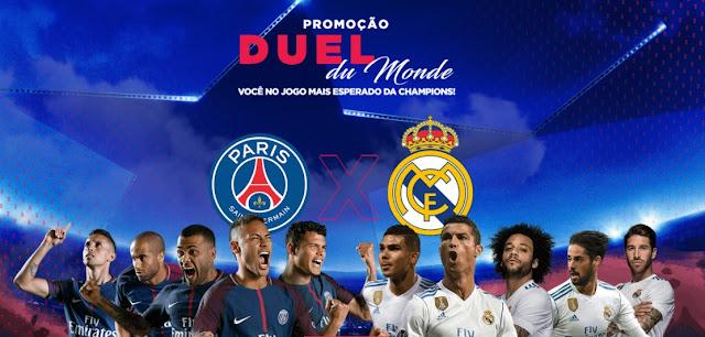 Esporte Interativo Paris PSG Real Madrid