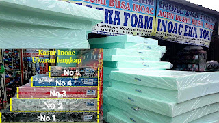 Agen pusat inoac ekafoam, pusat penjualan kasur inoac dan distributor busa inoac terbesar di indonesia