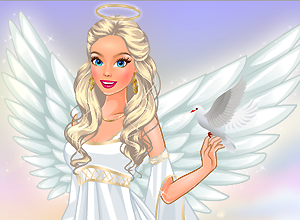 Cute Angel Dress Up