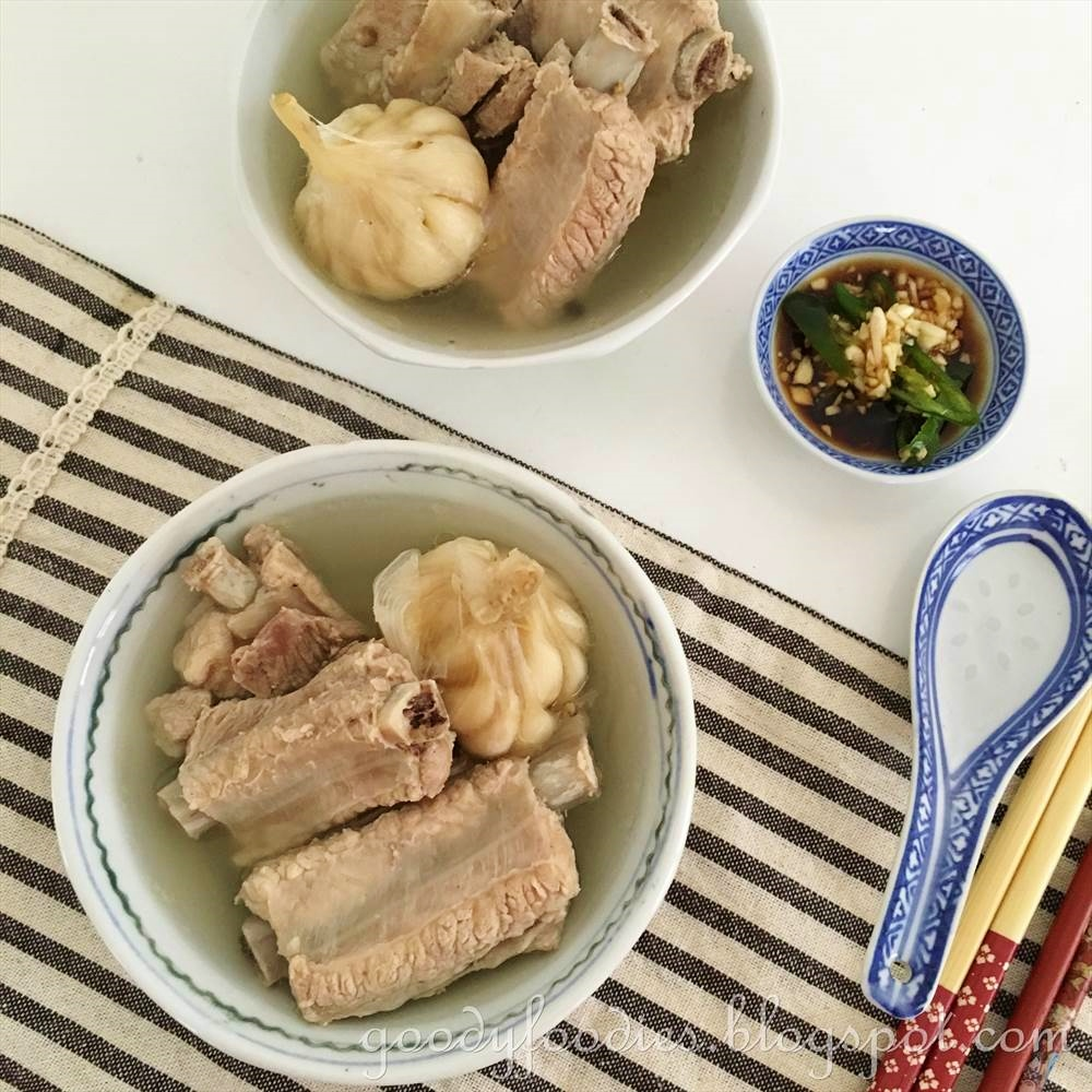 Goodyfoodies recipe singapore bak kut teh singapore style bak kut teh recipe by baby sumo preparation time 5 minutes cooking time 1 12 hours serves 4 forumfinder Choice Image
