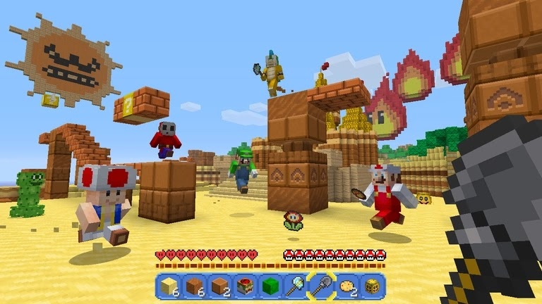 Microsoft  To Release Minecraft on the Nintendo Switch Today.
