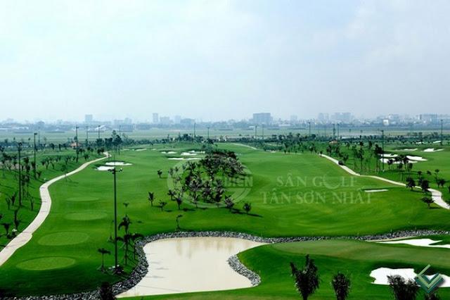 View sân Golf tại căn hộ Golf View Tower