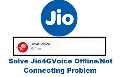 Jio4gvoice offline issue