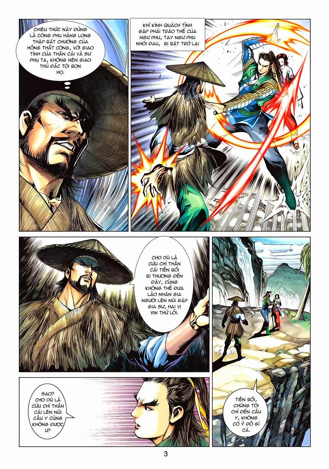 Anh Hùng Xạ Điêu anh hùng xạ đêu chap 72: ngư tiều canh độc trang 3