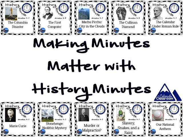 Making Minutes Matter with History Minutes: Interweaving Curriculum Together