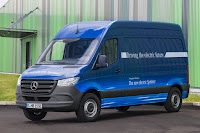 Mercedes-Benz eSprinter Panel Van (2019) Front Side