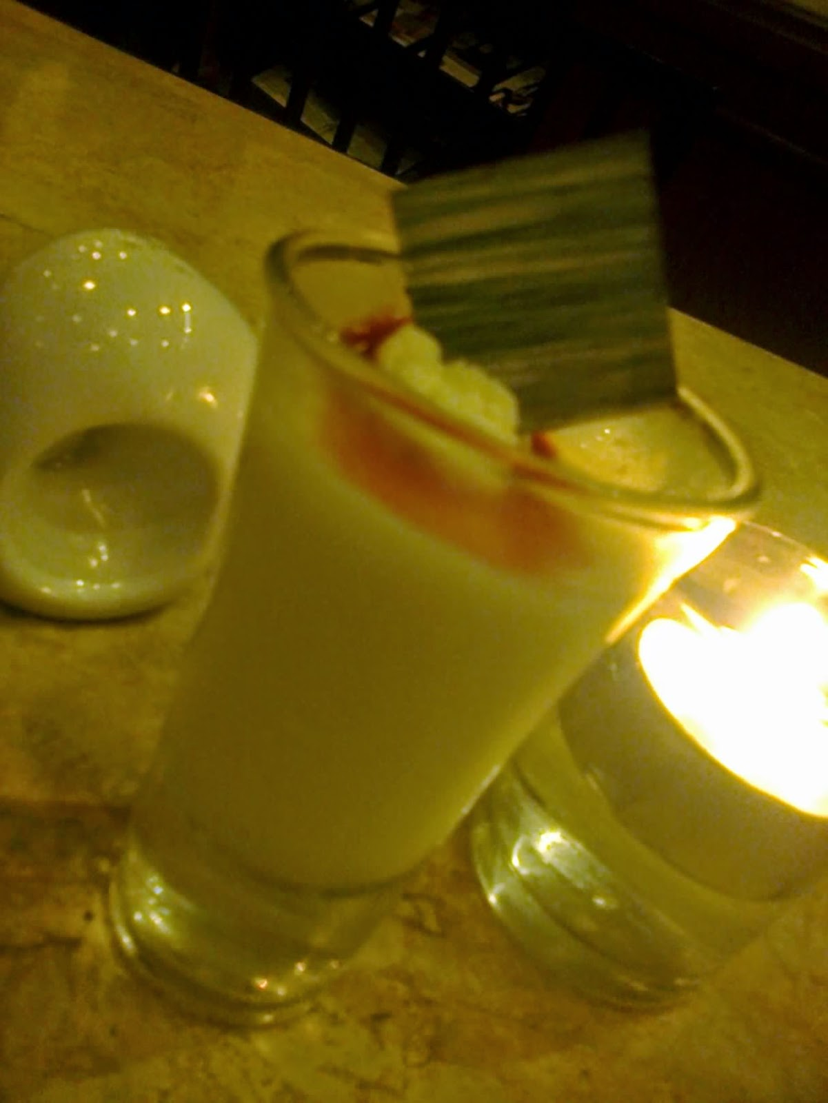 rum baileys dessert at Cafe Jeepney