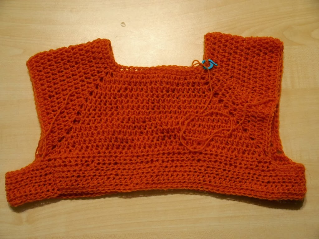 c1a6533c425b Το βελονάκι της Σοφίας  Πλεκτό φόρεμα με αχιβάδες   Crochet shell dress