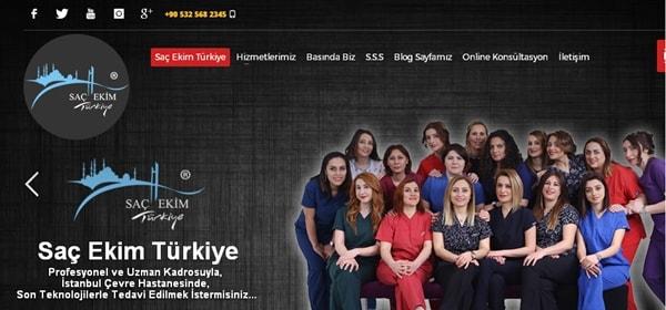 Türkiyedeki saç ekimi hastaneleri