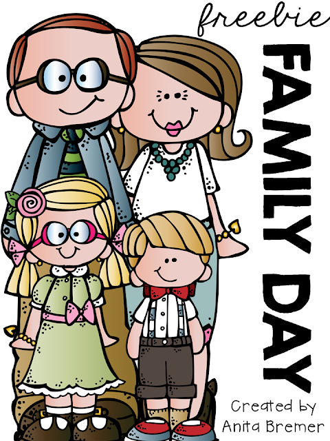 FREEBIE! Family Day is celebrated on the third Monday in February in most provinces of Canada. I made this little pack to share as we look forward to a day off spent with our loved ones. #familyday #freebies #Canada #kindergarten #1stgrade #2ndgrade