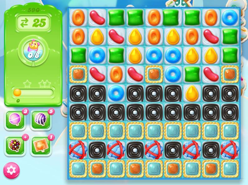 Candy Crush Jelly Saga level 590