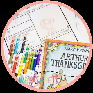 Thanksgiving Kindergarten book and activity