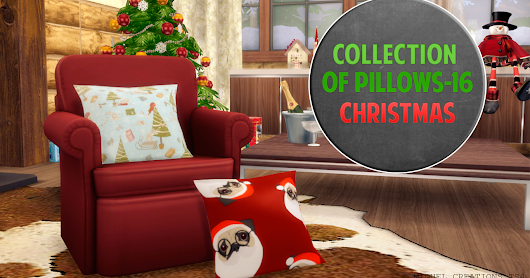 Collection of Pillows - 16 (Christmas)