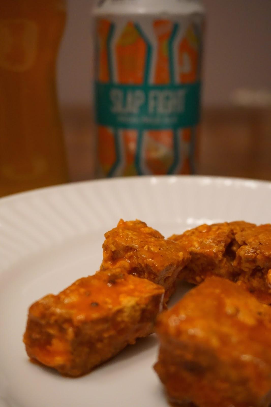 Buffalo Seitan Wings in the Air Fryer - Vegetarian South