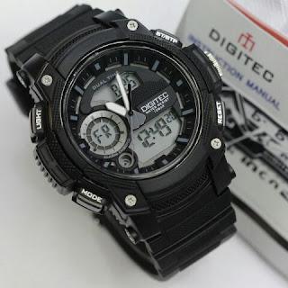 Jual Jam tangan Digitec murah warna hitam