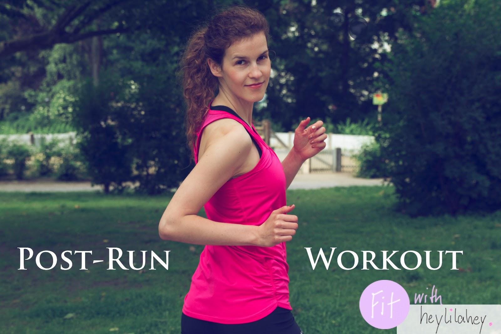 post-run workout