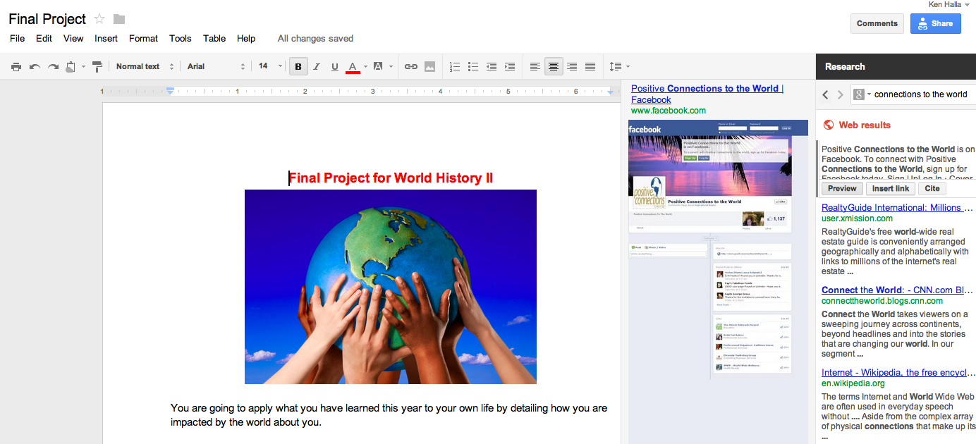 US History Teachers Blog: A Search Engine Within A Document