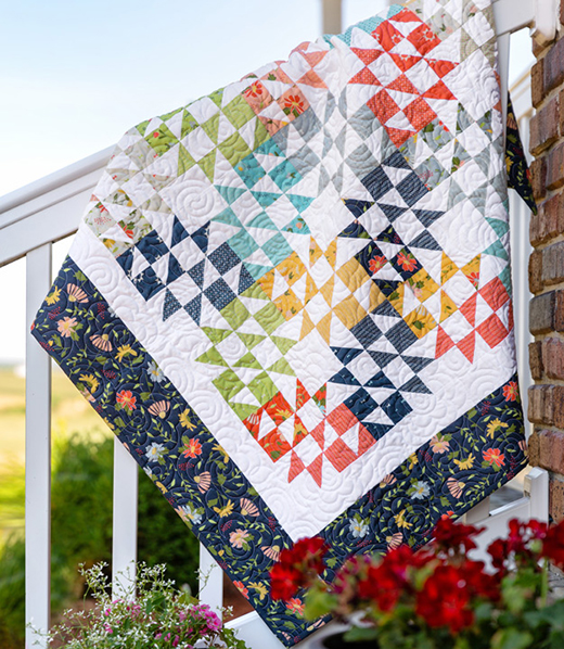 Sundance Cupcake Quilt Free Tutorial designed by Jenny of Missouri Quilt Co