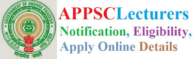 APPSC Lecturer Recruitment 2017 Eligibility & Apply Online for Polytechnic Colleges Posts