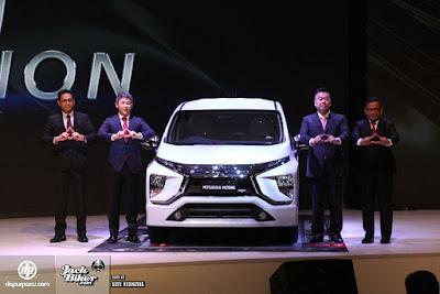 Launching Mitsubishi Expander (Pict : Dapurpacu)