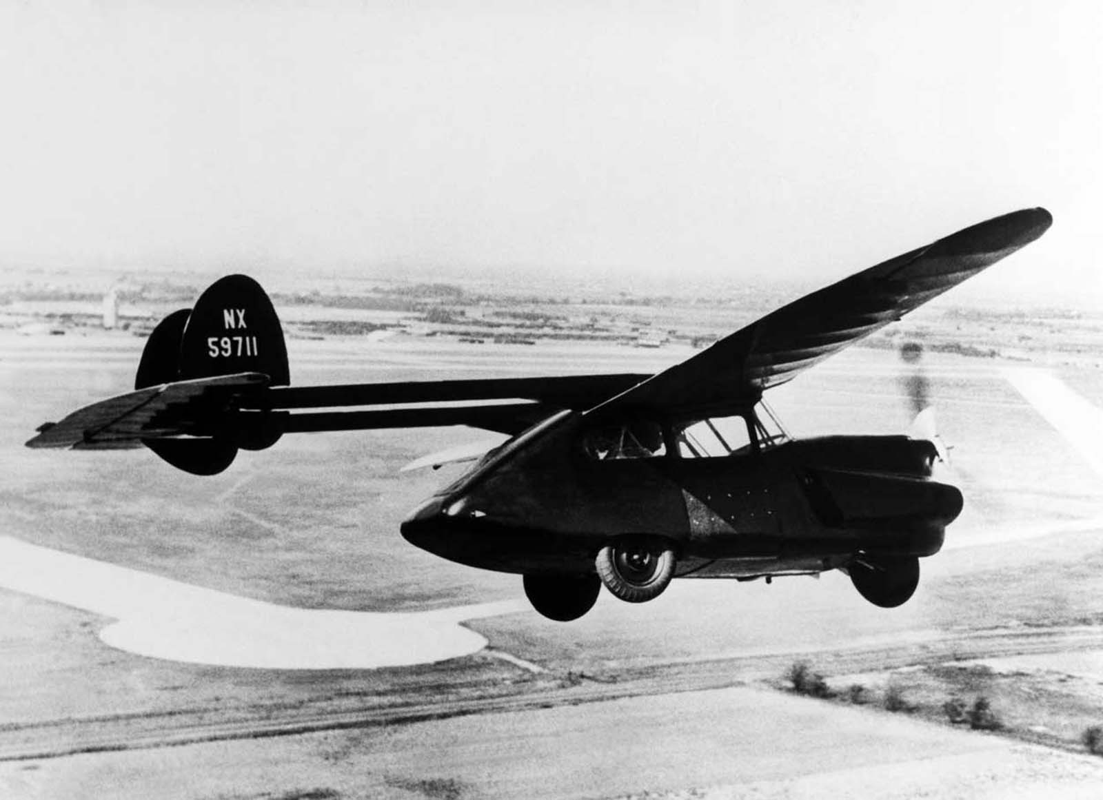 A Texan Flying Auto. 1946.