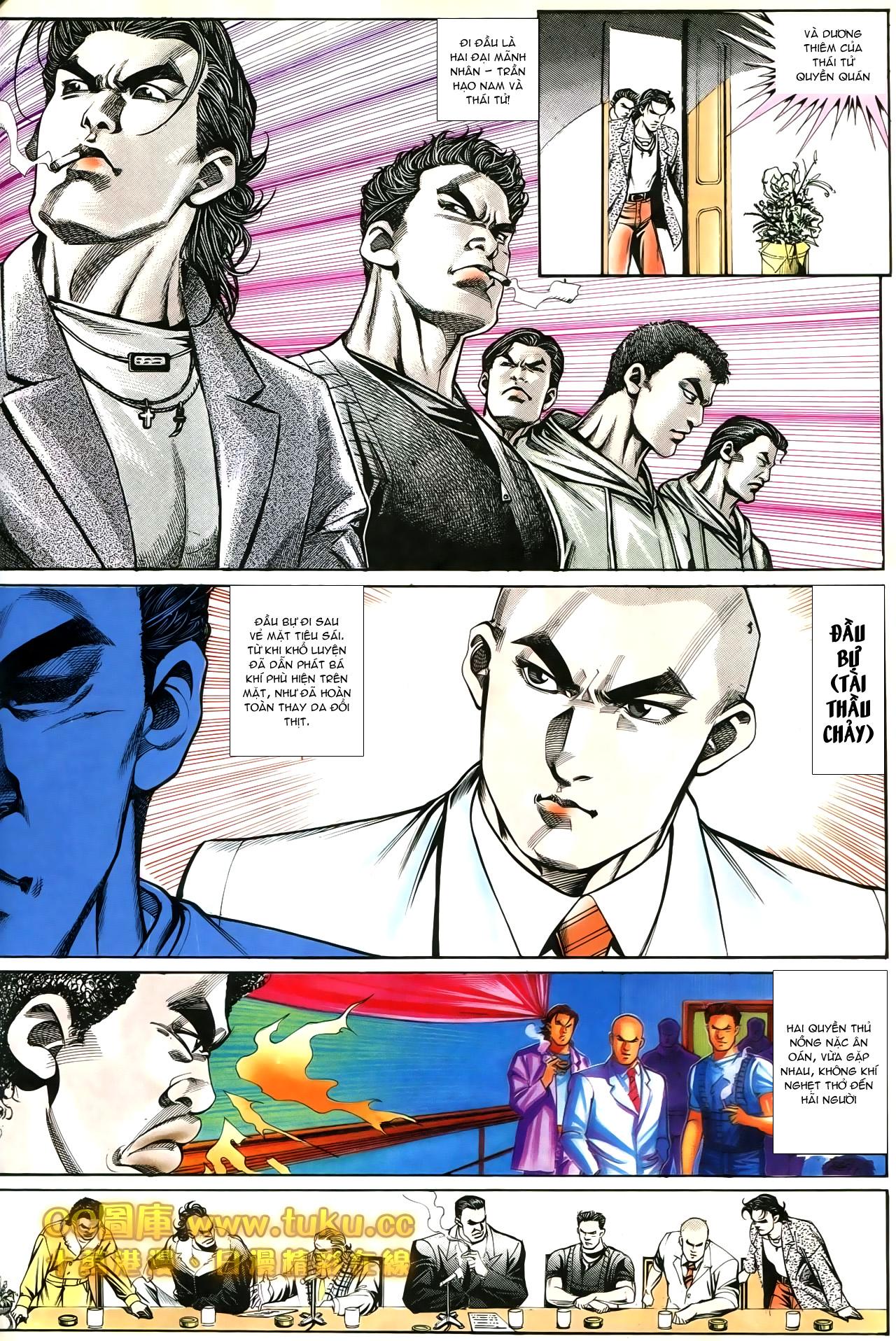 Người Trong Giang Hồ chapter 194: ngờ vực của đại phi trang 7
