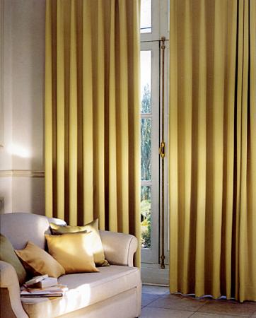 Design interior case apartamente-Perdele draperii living dormitor - preturi
