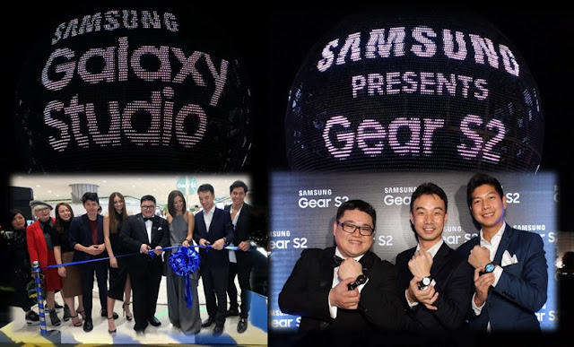Samsung Electronics Philippines unveils Galaxy Studio, Gear S2 digital and lifestyle watch