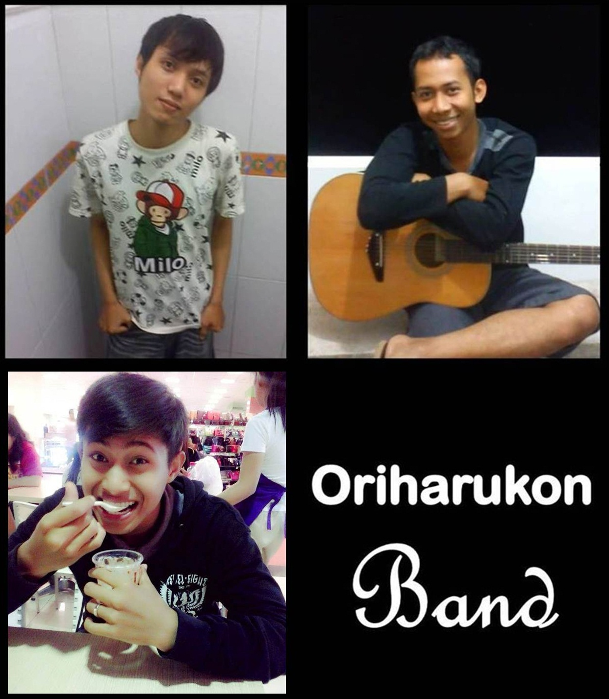 Monster Bego Oriharukon Band Adalah Band Dari Monster Bego