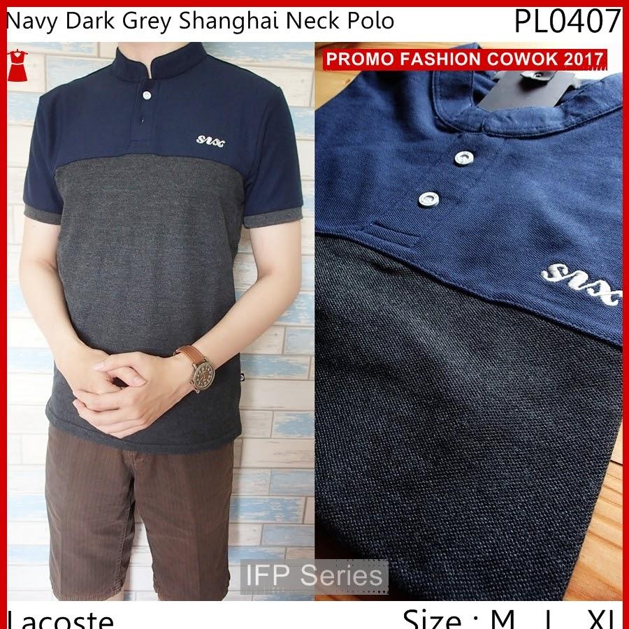 BIMFGP063 Shanghai Kaos Polo Fashion Pria PROMO