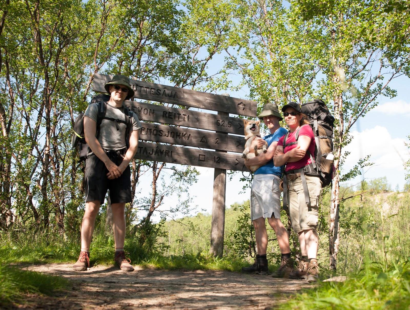 Inarikettu Kevon Vaellus 63km