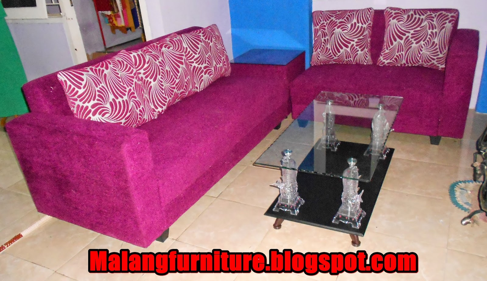 Malang Furniture Sofa Minimalis Meja Pojok Type 3 2 Kain