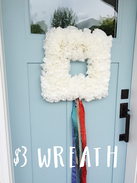 My D.I.Y. Summer Wreath