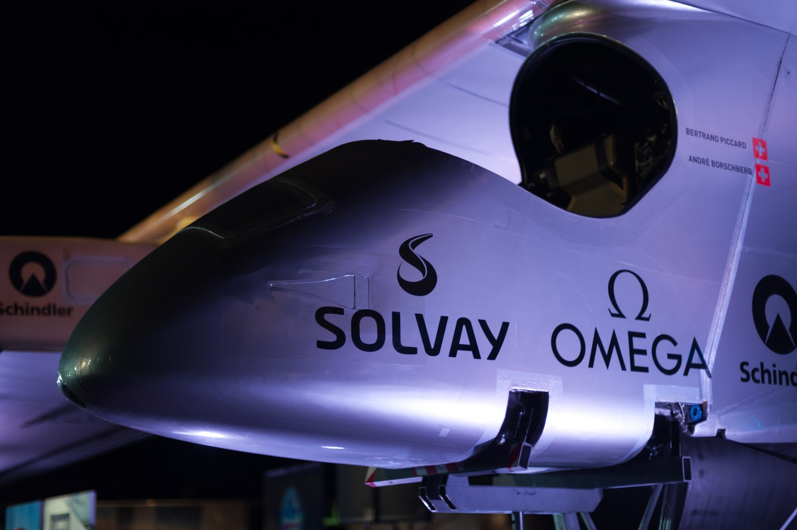 Solar Impulse cockpit