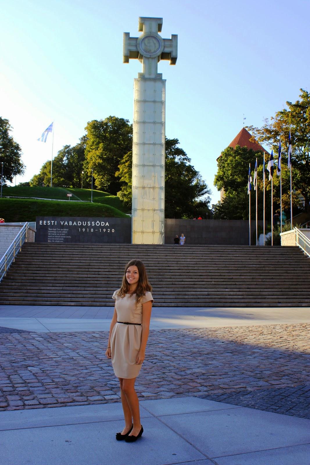 Tallin Pomnik Wolności