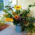 Rusztikus vázacsokor a mezőről