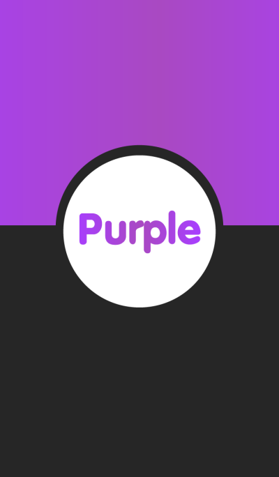 Simple Black & Purple v.2